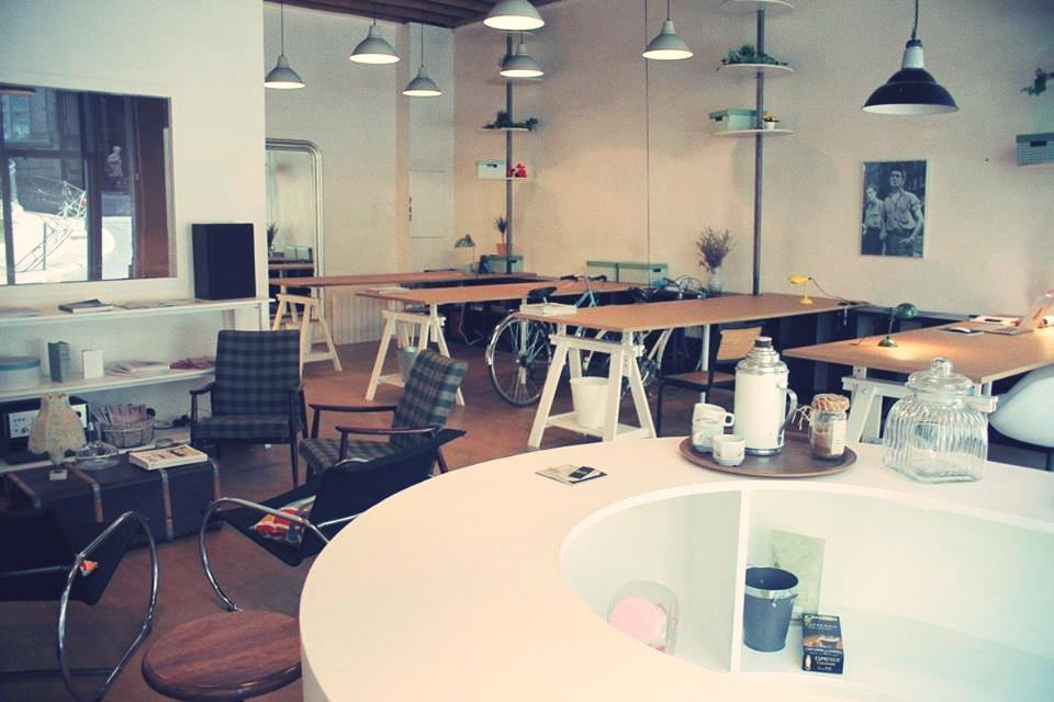 Postes de travail à Lyon dans espace design
